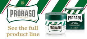 Proraso Products at The Valet London