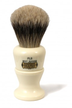 The Simpsons Polo Best Badger Shaving Brush