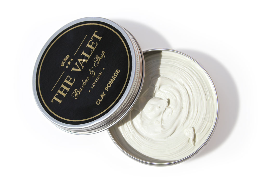 Clay Pomade (open) - 100ml from The Valet London