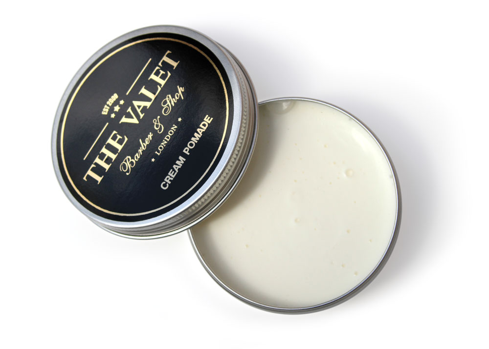 Cream Pomade (open) - 100ml from The Valet London