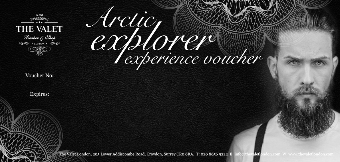 Arctic Explorer Beard Treatment Voucher