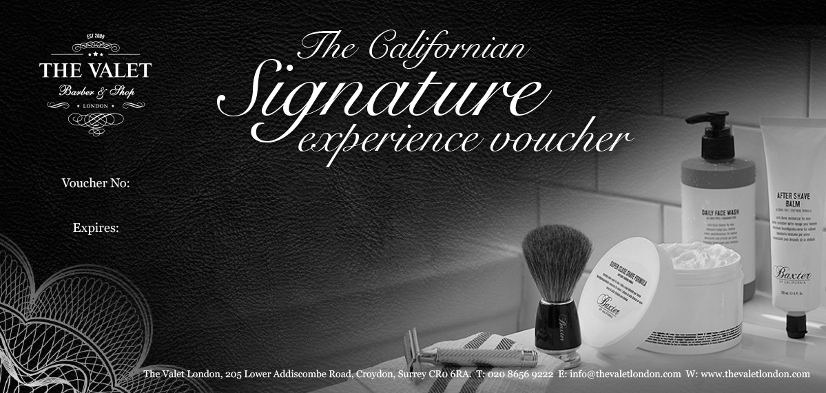 The Californian Signature Experience Voucher
