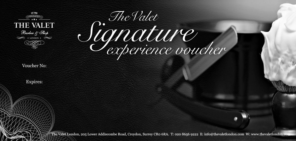 The Valet Signature Experience Voucher