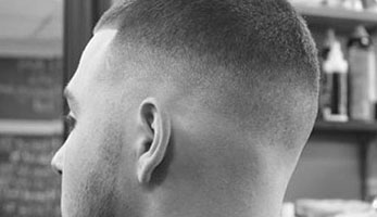 Military - High & Tight Fade with Buzz Cut